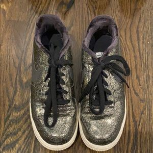 Nike Sparkly Black Sneakers
